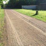 jævn grusvej til markveje, mølleveje og stier