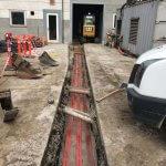 graveabejde til forskellige typer kabel