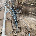 Grundvandssænkning med sugespidsanlæg