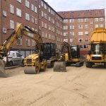 maskinpark med udlejning af gravemaskine og minigraver på nordsjælland