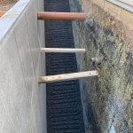 kældertrappe lavet af beton