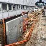 Færdigstøbt beton væg