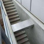 Novo nordisk færdig støbning af trappe