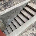 Færdig betontrappe